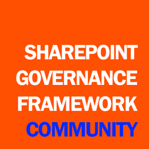 Click to visit the SharePoint Governance Framework Community